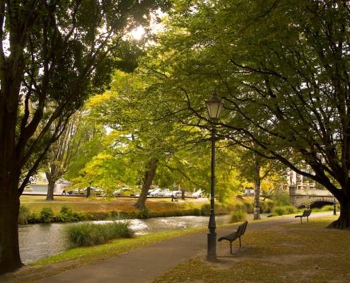 Jardin botanique de Christchurch in New Zealand - Photo © Pierre-André FAUTRIER