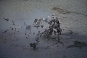 Explosion de boue © Pierre André Fautrier