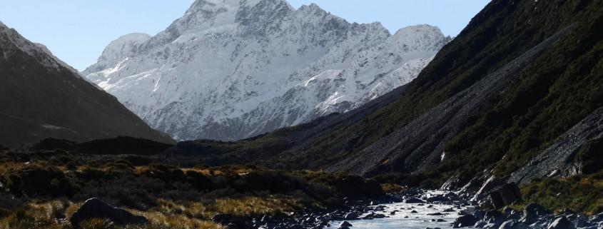 """reves-nouvelle-zelande-Mount Cook-Hooker Glacier Track, par """"Whats up on earth"""""""