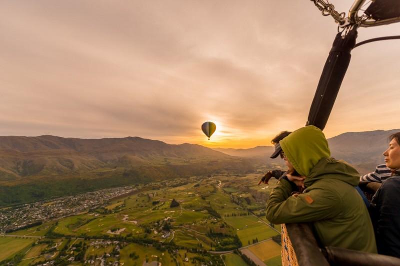 montgolfiere nouvelle zelande